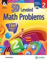 50 Leveled Math Problems Level 2 - PDF Download [Download]