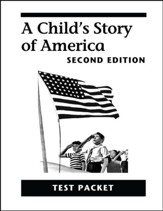 A Child's Story of America Test Packet, Grade 4