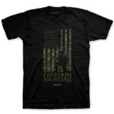 Freedom Was Not Free Shirt, Black, 4X-Large