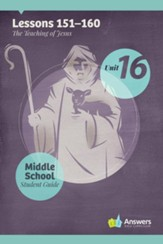 Answers Bible Curriculum Middle School Unit 16 Student Guide (2nd Edition)