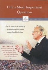 The Billy Graham Classic Collection: Life's Most Important   Question, DVD