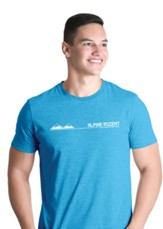 Alpine Ascent: Adult T-Shirt, Medium