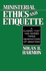 Ministerial Ethics and Etiquette - eBook
