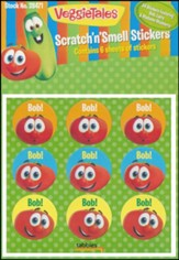 Veggie Tales Scratch 'n Smell Stickers