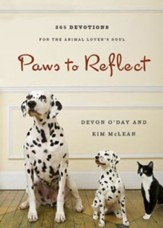 Paws to Reflect: 365 Daily Devotions for the Animal Lover's Soul - eBook