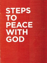 Steps To Peace With God (Red 2017 Version), 25 per pack