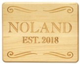 Personalized, Maple Plaque, Family, Large