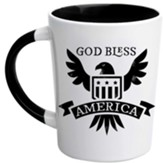 God Bless America Latte Mug