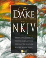 NKJV Dake Bible Imitation Leather Black