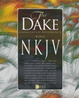 NKJV Dake Bible Imitation Leather Burgundy