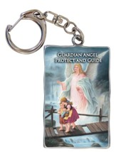 Guardian Angel Protect and Guide Keyring