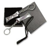 2018 Graduation Keyring, Celebrate Your Journey, with Cap Box