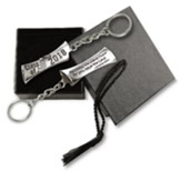 2018 Graduation Keyring, For I Know the Plans, with Cap Box