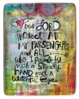 Dear Lord Protect Me, My Passengers Visor Clip
