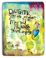 Daughter You Are So Dear to Me Visor Clip