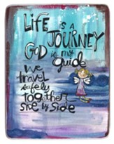 Life is a Journey Visor Clip