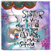 Sister You are Very Dear to Me Visor Clip