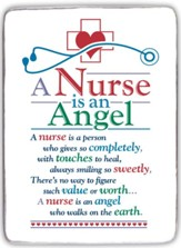 A Nurse is An Angel Mini Plaque