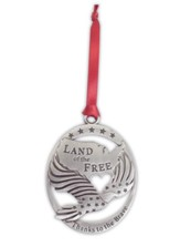 Land of the Free, Thanks to the Brave Ornament