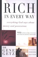 Rich in Every Way: Everything God Says About Money and Possessions - Slightly Imperfect