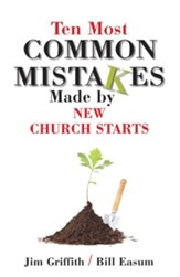 10 most common mistakes made by new church starts - eBook