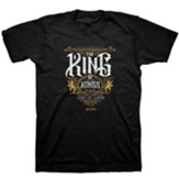 The King of Kings Shirt, Black, Small, Unisex