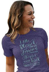 I Am Script, Overcomer Tee, Small