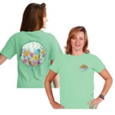 Consider the Lillies Shirt, Mint Green, Large