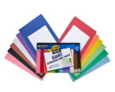 Crayola Project Giant Construction Paper, 48 Sheets