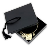 2020 The Places You'll Go Graduation Bracelet, Gold