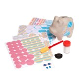 Decoupage Made Easy Craft Set, Piggy Bank
