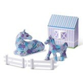 Decoupage Made Easy Deluxe Craft Set, Horse and Pony