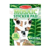 Mosaic Sticker Pad, Nature
