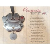 Pawprints Left By You, Pawprint Ornament