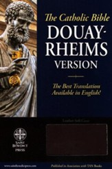 Douay Rheims Bible Ultrasoft  Burgundy