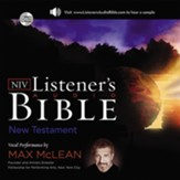 The NIV Listener's Audio Bible - New Testament: Vocal Performance by Max McLean Audiobook [Download]