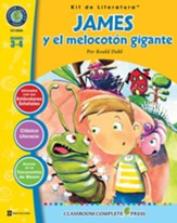 James y el melocotsn gigante - Kit  de Literatura, Gr 3-4  (James and the Giant Peach Literature Kit)