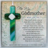 For My Godmother Cross Ornament