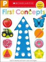 Get Ready for Pre-K Skills Workbook: Shapes and Colors