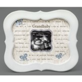 Grandbaby Scalloped Photo Frame