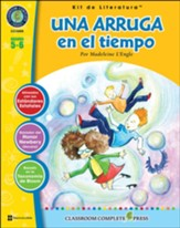 Una arruga en el tiempo, Kit de  Literatura (A Wrinkle in  Time, Literature Kit) Grade 5-6