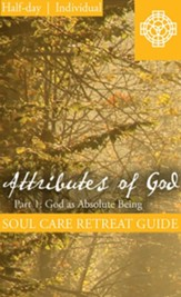 Attributes of God Part 1, Half Day Retreat Guide, Individual - PDF Download [Download]