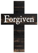 Forgiven Wood Cross