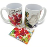 Scatter Kindness Mug And Fabric Coaster Boxed Set
