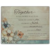 Together Floral Mini Cutting Board