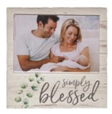 Simply Blessed Photo Frame