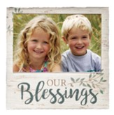 Our Blessings Photo Frame