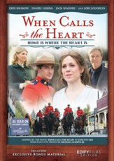 When Calls the Heart: Home Is Where the Heart Is, DVD  - Slightly Imperfect