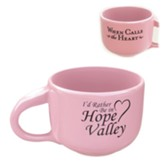 When Calls the Heart: Large Coffee Cup, Pink
