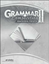 Grammar and Composition 2 Quizzes & Tests